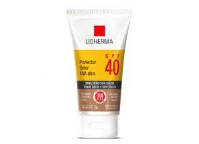 Protector Solar UVA PLUS SPF 40 Toque Seco Color