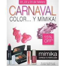 Carnaval, color y… ¡Mímika!