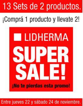 Lidherma Super Sale!