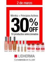 Promoción: Mímika + Principios Activos