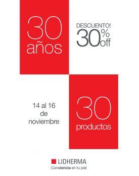 ¡¡Promo 30 AÑOS!!
