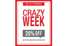 Crazy Week=20%OFF