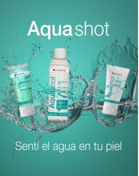 ¡Sentí el agua en tu piel!